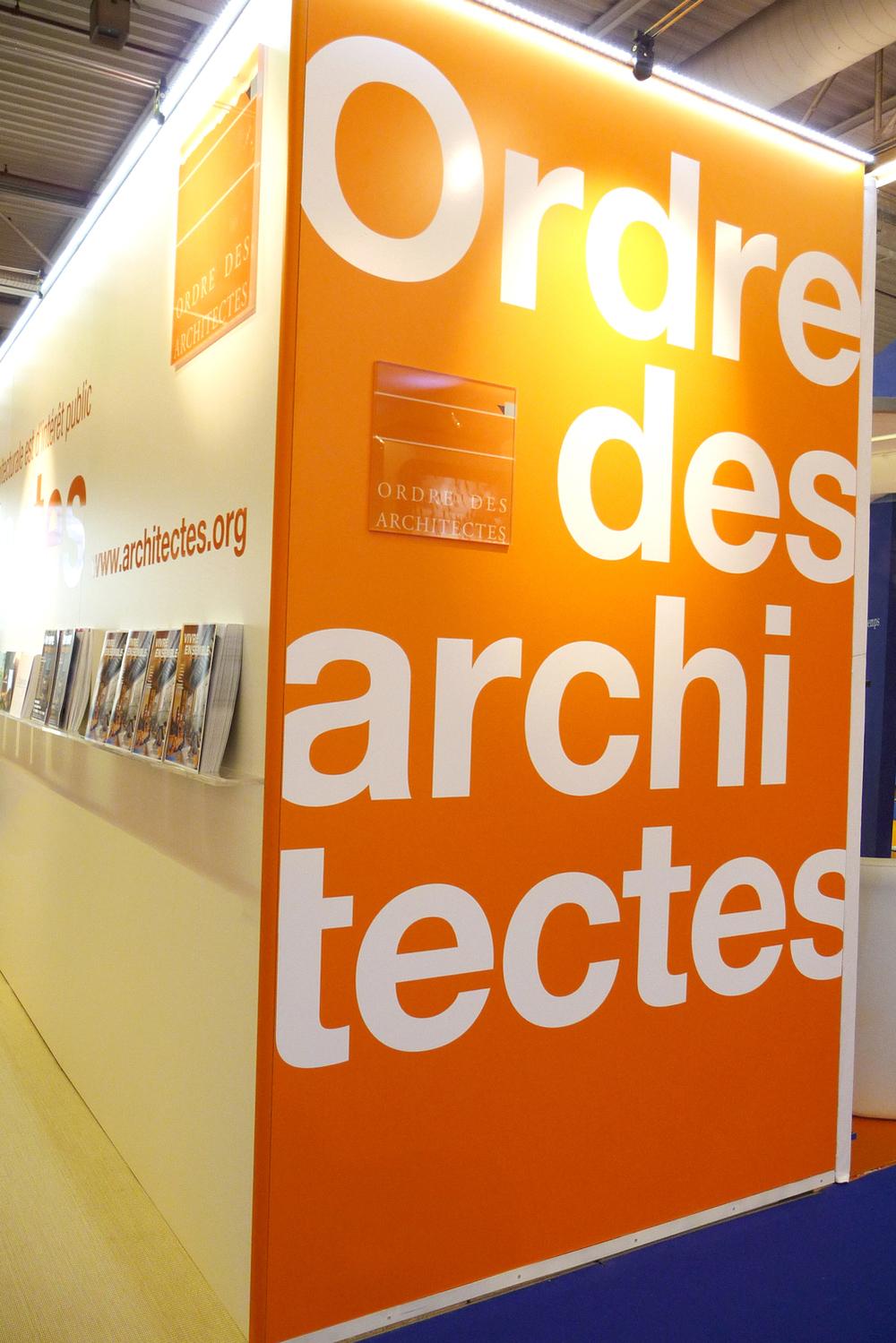 Conseil national de l'Ordre des architectes /// SMCL 2012 • 2013 • 2014 • 2015