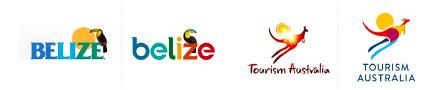 Bélize logo - l'Australie logo - blog LUCIOLE