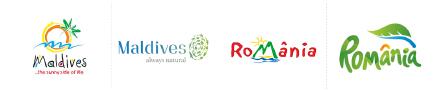 Maldives logo - Romania logo - blog LUCIOLE