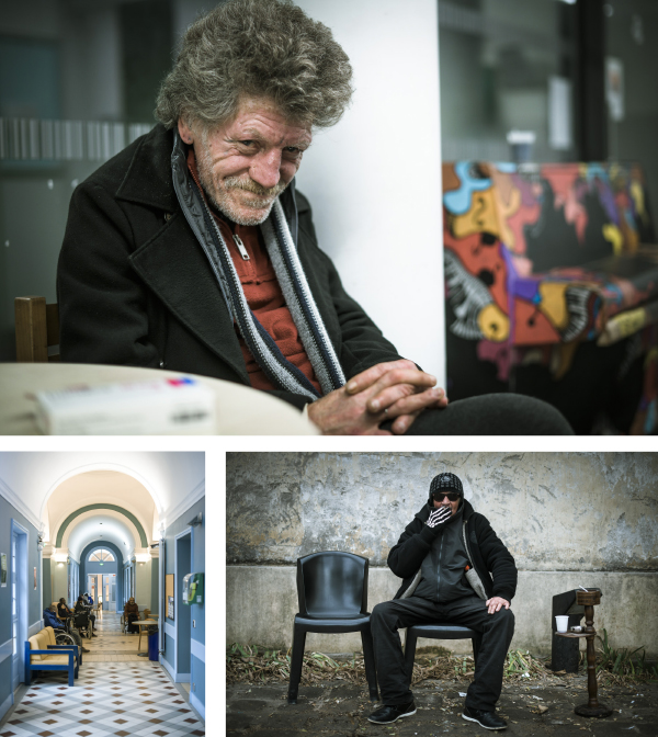 HAS - Samusocial de Paris - Reportage photo - © Patrick Sordoillet - Luciole
