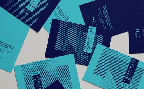Carrefours HEC - Identité visuelle - Luciole