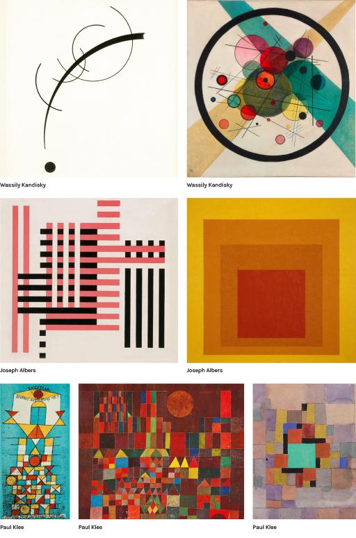 Wassily Kandinsky - Josef Albers - Paul Klee - blog Luciole