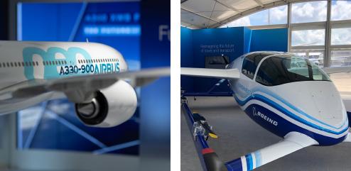 © Airbus 2019 / © Marc 2019 - Salon du Bourget 2019 - blog Luciole