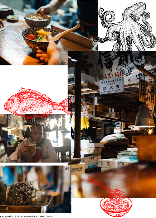 Kodawari Tsukiji - blog Luciole