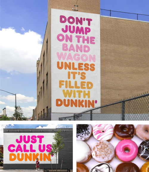 Dunkn Donuts - blog Luciole