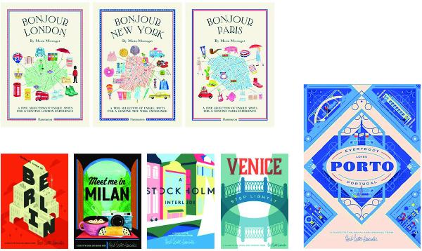 Les guides de l'été -Wildsam et Wallpaper - blog Luciole