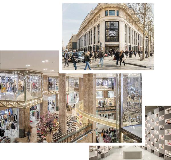 Galeries Lafayette Champs-Elysées  - blog Luciole