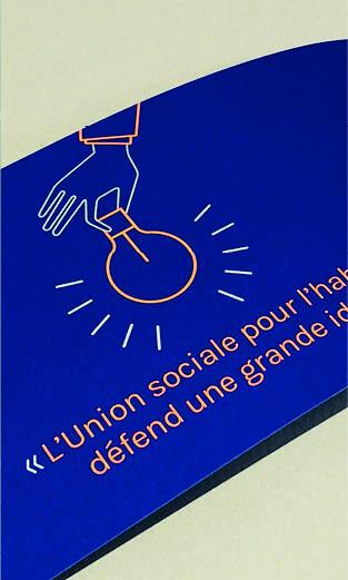 Union sociale pour l'habitat - Vœux 2018 carte imprimée - vidéo d'animation - LUCIOLE