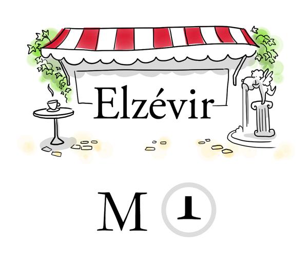 Police Elzévir - blog Luciole